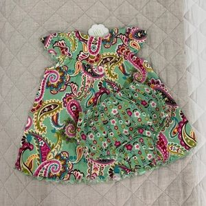 Vera Bradley Baby Dress and Bloomers